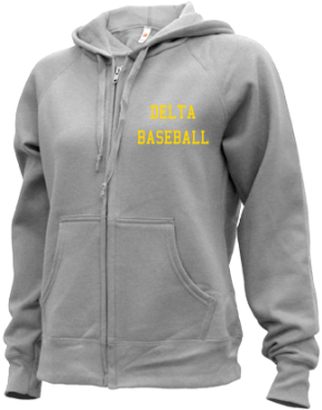 Delta High School Zip-up Hoodies