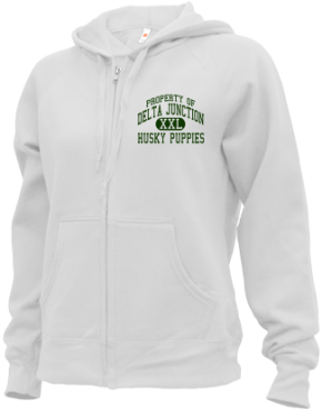Delta Junction Elementary School Zip-up Hoodies