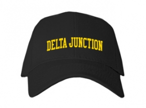 Delta Junction High School Kid Embroidered Baseball Caps
