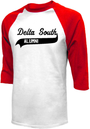 Delta South Elementary School Raglan Shirts