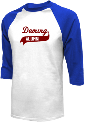 Deming Middle School Raglan Shirts