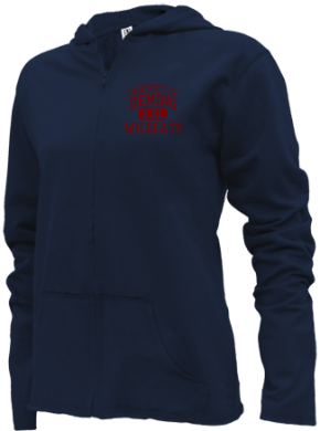 Deming Middle School Girls Zipper Hoodies