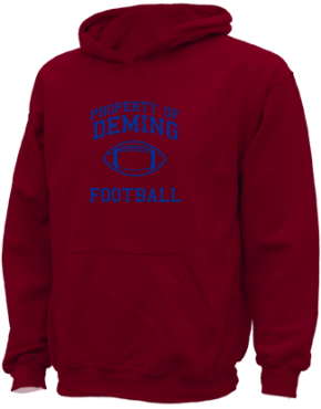 Deming Middle School Kid Hooded Sweatshirts