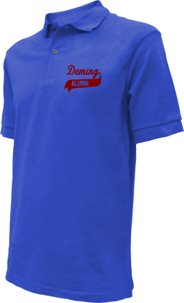 Deming Middle School Embroidered Polo Shirts