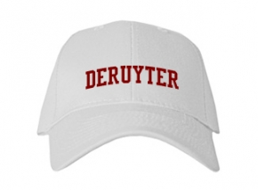Deruyter High School Kid Embroidered Baseball Caps
