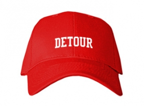 Detour High School Kid Embroidered Baseball Caps