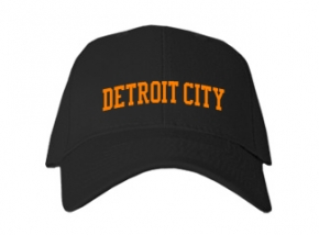 Detroit City High School Kid Embroidered Baseball Caps