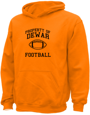 Dewar Elementary School Kid Hooded Sweatshirts