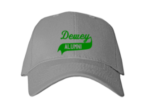 Dewey Elementary School Embroidered Baseball Caps