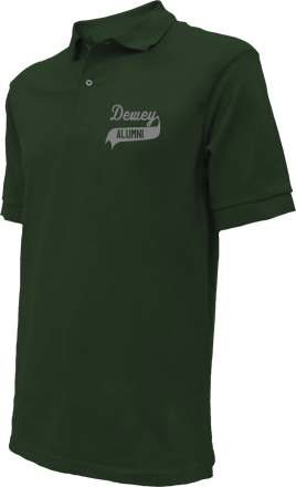 Dewey Elementary School Embroidered Polo Shirts