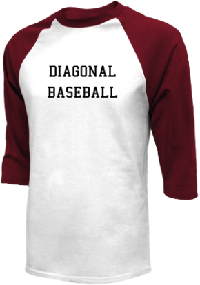 Diagonal High School Raglan Shirts