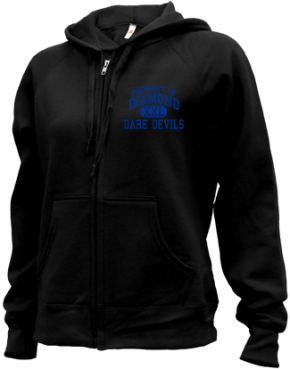Diamond Elementary School Zip-up Hoodies
