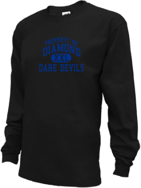 Diamond Elementary School Kid Long Sleeve Shirts