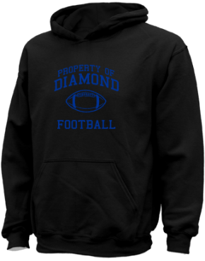 Diamond Elementary School Kid Hooded Sweatshirts