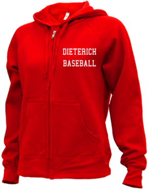 Dieterich High School Zip-up Hoodies