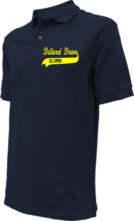 Dillard Drive Middle School Embroidered Polo Shirts