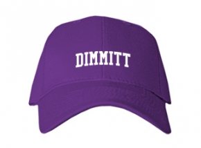 Dimmitt High School Kid Embroidered Baseball Caps