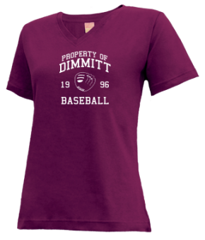 Dimmitt High School V-neck Shirts