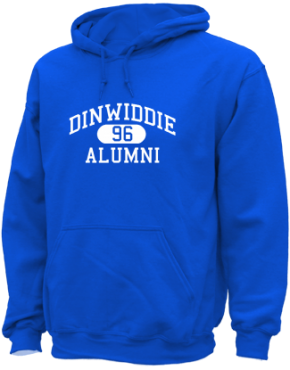 Dinwiddie High School Hoodies