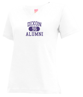 Dixon High School V-neck Shirts