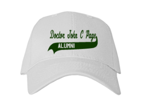 Doctor John C Page Elementary School Embroidered Baseball Caps