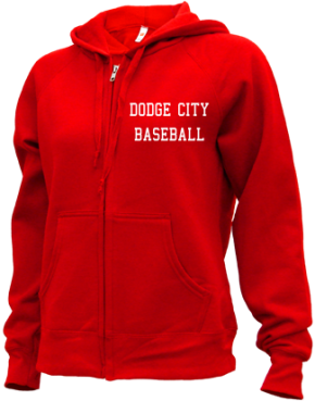 Dodge City High School Zip-up Hoodies