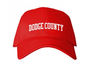 Dodge County High School Kid Embroidered Baseball Caps
