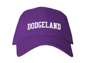Dodgeland High School Kid Embroidered Baseball Caps
