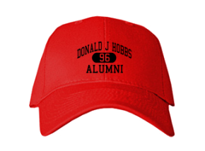 Donald J Hobbs Middle School Embroidered Baseball Caps