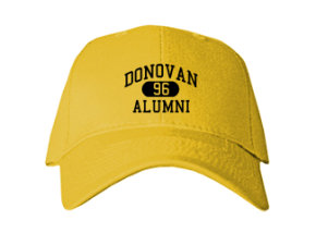 Donovan High School Embroidered Baseball Caps