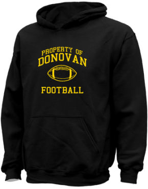 Donovan High School Kid Hooded Sweatshirts