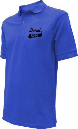 Doral Academy Embroidered Polo Shirts