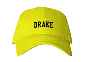Drake Middle School Kid Embroidered Baseball Caps