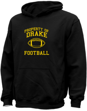 Drake Middle School Kid Hooded Sweatshirts