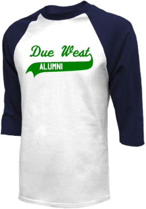 Due West Elementary School Raglan Shirts