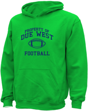 Due West Elementary School Kid Hooded Sweatshirts