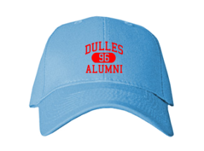 Dulles Middle School Embroidered Baseball Caps