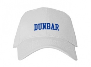 Dunbar High School Kid Embroidered Baseball Caps