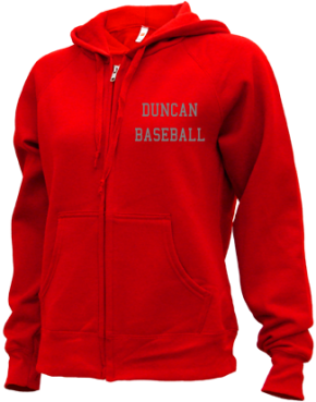 Duncan High School Zip-up Hoodies