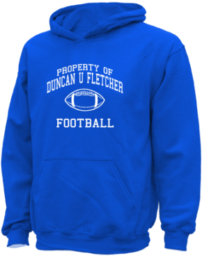 Duncan U Fletcher Middle School Kid Hooded Sweatshirts