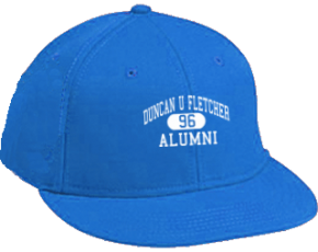 Duncan U Fletcher Middle School Flat Visor Caps