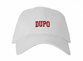 Dupo High School Kid Embroidered Baseball Caps