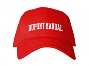 duPont Manual High School Kid Embroidered Baseball Caps