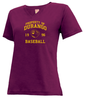 Durango High School V-neck Shirts