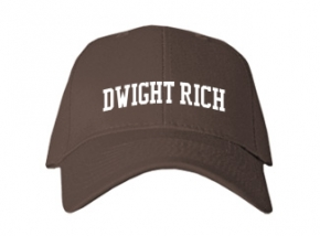 Dwight Rich Middle School Kid Embroidered Baseball Caps
