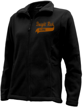 Dwight Rich Middle School Embroidered Fleece Jackets