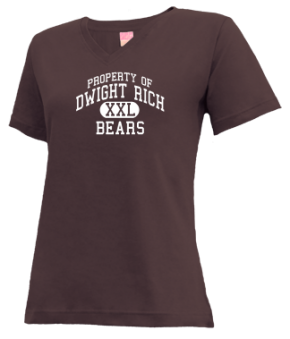 Dwight Rich Middle School V-neck Shirts