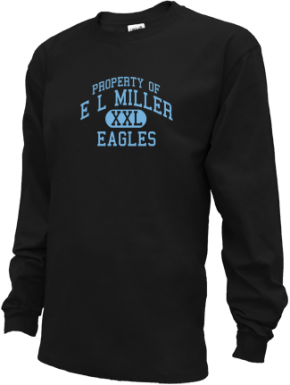 E L Miller Elementary School Kid Long Sleeve Shirts