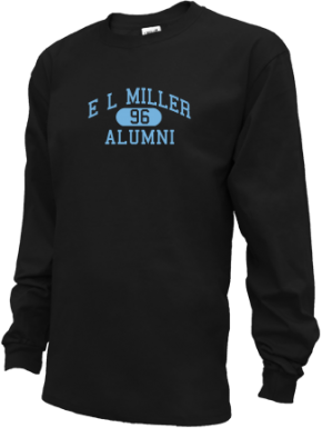 E L Miller Elementary School Long Sleeve Shirts