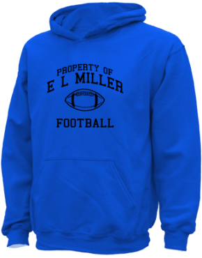 E L Miller Elementary School Kid Hooded Sweatshirts